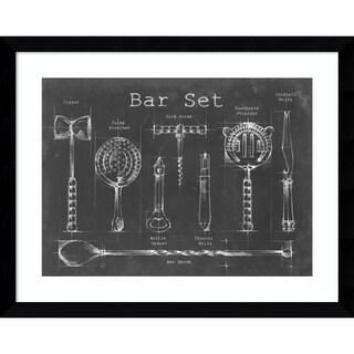 Framed Art Print 'Bar Set' by Ethan Harper 39 x 31-inch