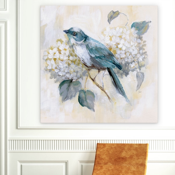 'Morning Song II' Canvas Premium Gallery-wrapped Wall Art