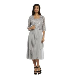 Silver Evening &amp Formal Dresses - Overstock.com Shopping