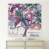 Wexford Home 'Boho Tree' Gallery Wrapped Canvas Wall Art