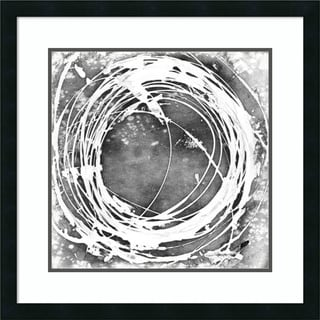 Framed Art Print 'Three-Sixty I' by Ethan Harper 26 x 26-inch