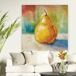 Wexford Home F Rosenstiels Widow Son 'Fresh Pear' Premium Gallery Wrapped Canvas