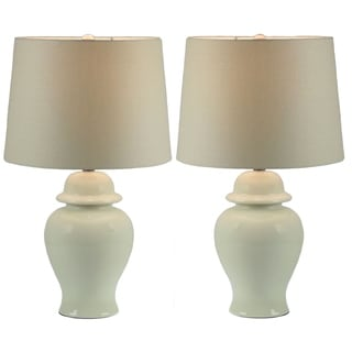 Belin Ginger Jar Table Lamp (Set of 2) 24 inches high
