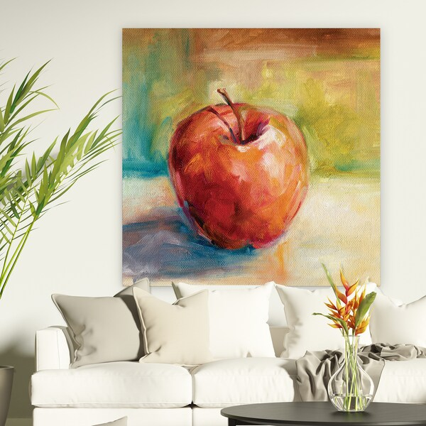 Wexford Home 'Fresh Apple' Premium Gallery Wrapped Canvas Art