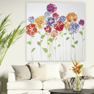 Wexford Home 'Pretty Posies II' Premium Gallery-wrapped Canvas (4 Sizes Available)