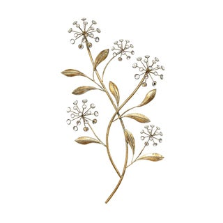 Stratton Home Decor Floral Acrylic Bursts Wall Decor