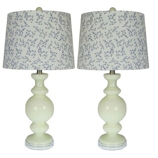 Kalin EggShell Set of 2 Table Lamps - 27 inches high