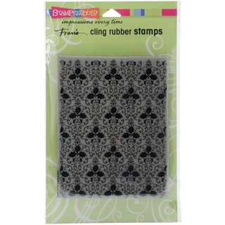 Stampendous Cling Stamp 7.75X4.5-Holly Background