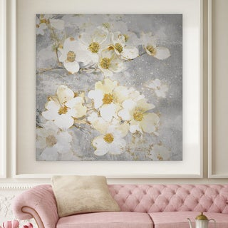 'Not Just A Pretty Face I' Canvas Premium Gallery-wrapped Wall Art