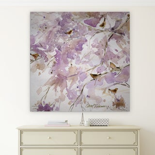 Wexford Home 'Lavender Spring II' Premium Gallery Wrapped Canvas Art