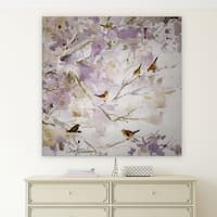 Wexford Home 'Lavender Spring I' Premium Gallery Wrapped Canvas with 4 Sizes Available