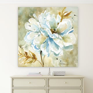 'Dahlia' Canvas Premium Gallery-wrapped Wall Art