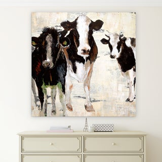 'Hangin' Out' Premium Gallery Wrapped Canvas Art