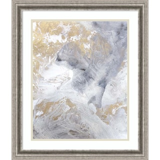Framed Art Print 'Gold Fusion II' by Julia Contacessi 23 x 27-inch