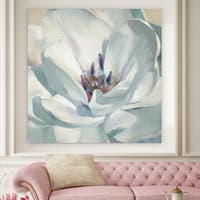 'Iridescent Bloom II' Canvas Premium Gallery-wrapped Wall Art