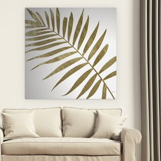 Wexford Home 'Golden Frond II' Premium Gallery Wrapped Canvas Art