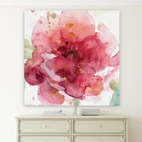 Wexford Home 'Bold Blush I' Premium Gallery-wrapped Canvas Art