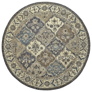 Grand Bazaar Botticino Multi Round Area Rug (8' x 8') - 8' x 8'