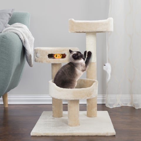 PETMAKER 3-Tier Cat Tree