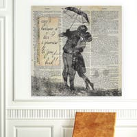 Wexford Home 'Give It Back' Premium Gallery-wrapped Canvas Giclee Art Print