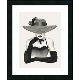 Framed Art Print 'In Vogue II' by Grace Popp 18 x 22-inch