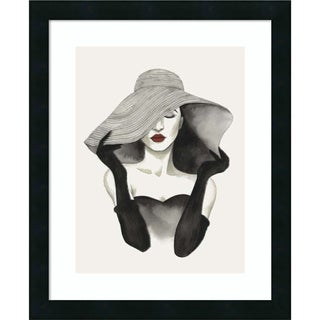 Framed Art Print 'In Vogue I' by Grace Popp 18 x 22-inch