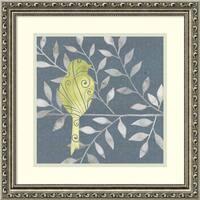 Framed Art Print 'Serene Silhouette III (Bird)' by Grace Popp 19 x 19-inch