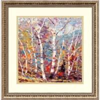 Framed Art Print 'Birch Colors 2' by Dean Bradshaw 19 x 19-inch
