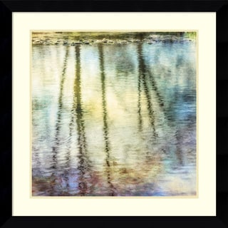 Framed Art Print 'Sunset Ripple 1' by Dianne Poinski 33 x 33-inch
