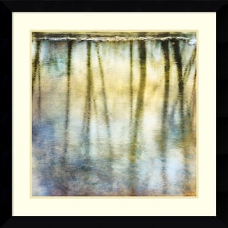 Framed Art Print 'Sunset Ripple 2' by Dianne Poinski 33 x 33-inch