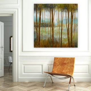 'Soft Forest I' Canvas Premium Gallery-wrapped Wall Art