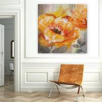 Wexford Home 'Orange Crush I' Premium Gallery-wrapped Canvas (4 Sizes Available)