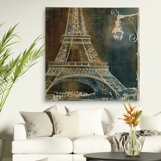 Wexford Home 'Nighttime Paris' 4 Sizes Available Premium Gallery Wrapped Canvas