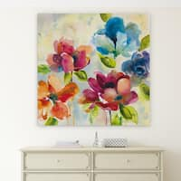 'Color My World II' Premium Gallery Wrapped Canvas (4 Sizes Available)