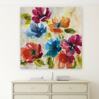 'Color My World I' Premium Gallery Wrapped Canvas (4 Sizes Available)