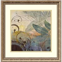 Framed Art Print 'Turning Point 4' by Starlie Sokol-Hohne 19 x 19-inch