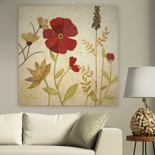 Premium Gallery Wrapped Floral Canvas Wall Art