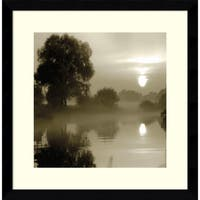 Framed Art Print 'Reflections of the Sun' by Steven Mitchell 17 x 17-inch
