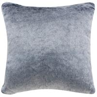 Safavieh Skyler Plush Blue / White Pillow