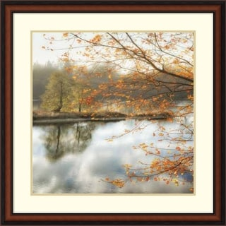 Framed Art Print 'Morning Mirror 2' by Dianne Poinski 33 x 33-inch