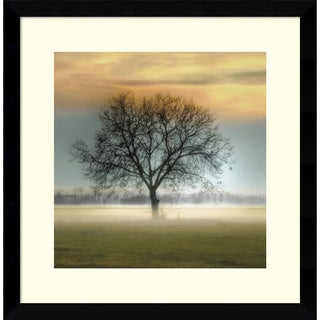 Framed Art Print 'Misty Silhouette' by Steven Mitchell 17 x 17-inch