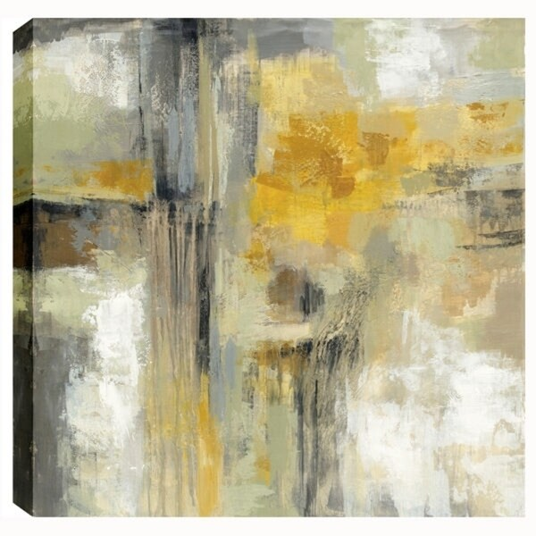 Silvia Vassileva, Sun and Rain, Gel Brush Finish Canvas Wall Art ...