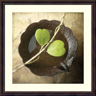 Framed Art Print 'Entwined' by Glen & Gayle Wans 24 x 24-inch