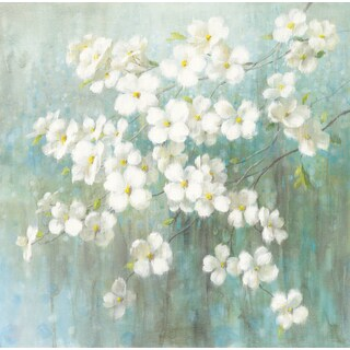 Danhui Nai 'Spring Dream I Abstract' Gel Brush Finish Canvas Gallery-wrapped Wall Art Decor