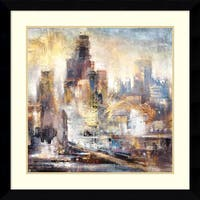 Framed Art Print 'Downtown Drive 2' by Bruce Marion 33 x 33-inch
