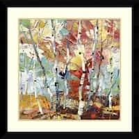 Framed Art Print 'Color Burst 1' by Dean Bradshaw 33 x 33-inch