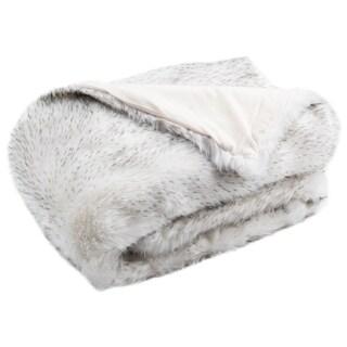 Safavieh Faux Dalmatian Tips 50 x 60-inch Throw Blanket