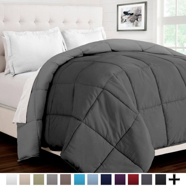 Reversible Premium Ultra Soft Down Alternative Comforter