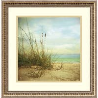 Framed Art Print 'A Place To Be' by Donna Geissler 19 x 19-inch