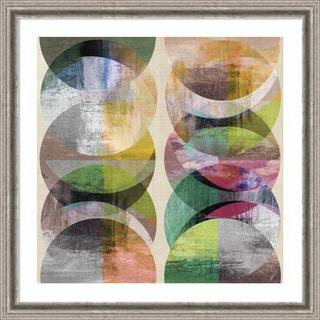 Framed Art Print 'Phases 3' by John Butler 31 x 31-inch